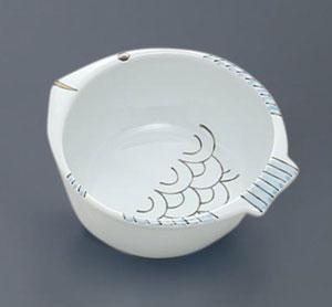 優々 刻み食用小鉢 さかなくん 魚用小鉢