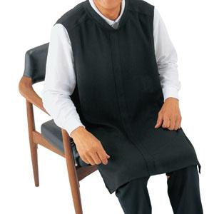 紳士ブラックエプロン フォーマル39868