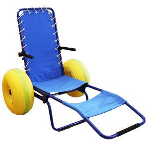 レジャー用車椅子 J.O.B 砂浜でも使える イタリア製