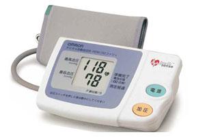 デジタル自動血圧計(上腕式)HEM-762ファジィ