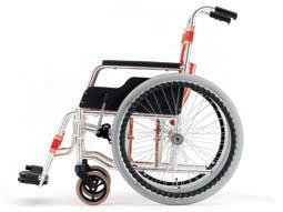 車椅子の背固定