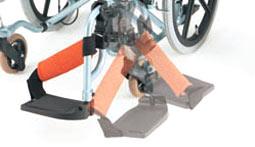 車椅子のスイングアウト