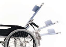 車椅子のリクライニング
