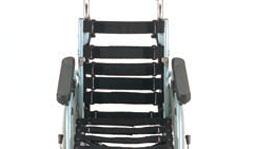 車椅子の背シート張り調整