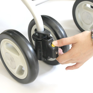 タイヤの角度調節
