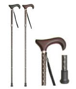 プルストップ伸縮4つ折たたみ杖 KSI-P5080A