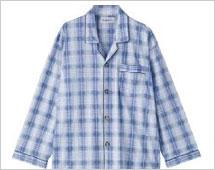 婦人着脱簡単パジャマ 2枚セット 柄おまかせ38527 春夏