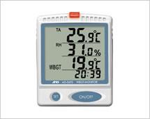 熱中症指数モニター 卓上・壁掛型 AD-5693