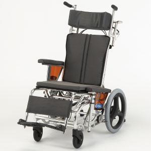 ティルト リクライニング車いす nah w1 リクライニング車椅子 介護用品