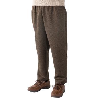 紳士用おしりスルッとカチオンパンツ 2枚組 はきやすいズボン 89592