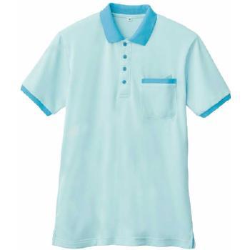 介護施設・病院向けユニフォーム 半袖ポロシャツWH90818 SS〜5Lサイズ 洗い替えにオススメ2枚セット