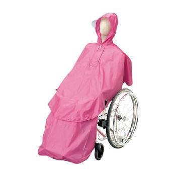 車椅子用レインコート ケアーレインセパレートタイプ 上下セット