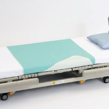 ハビナース 耐熱防水ブロードシーツ 介護シーツ 2枚組