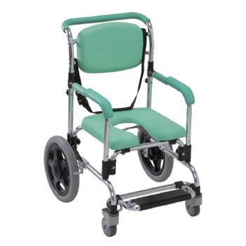 らくらく浴用キャリー低床 肘掛固定型 シャワーキャリー・風呂用車椅子