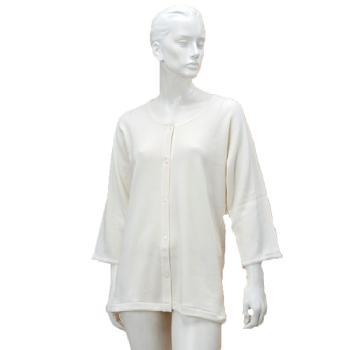 婦人のびのびワンタッチ肌着 7分袖ホック付 BM6F 秋冬用 2枚組