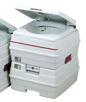 ビザ・ポータブル水洗トイレ 24Lタイプ