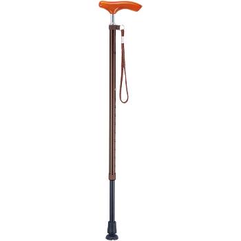 スリムネックツートンステッキ 伸縮杖 AS-250 長さ70〜92.5cm 身長約136〜181cm