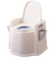 テイコブポータブルトイレ 肘掛け付 PT02