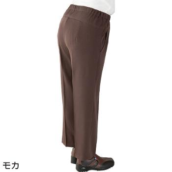 婦人 スタイルをケアするパンツ 通年 2枚セット 97643 背中が出にくいズボン