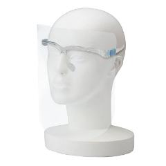 眼鏡型フェイスシールド フレーム+シールドセット 1ケース(20個入り) 感染防止対策