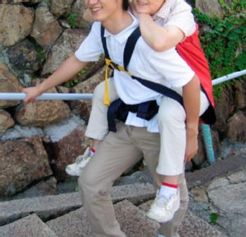 安全背負い具 おんぶらっく 大人用避難おんぶ紐 救助用防災用品