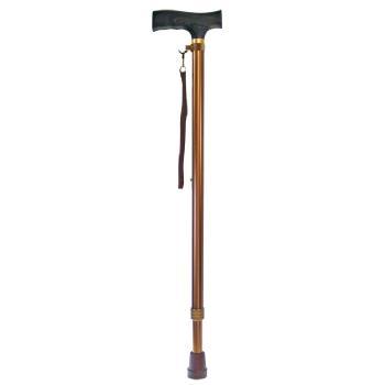 ウェルファン 夢ライフステッキ 伸縮杖 ベーシックタイプ 長さ69~92cm 身長約130?180cm
