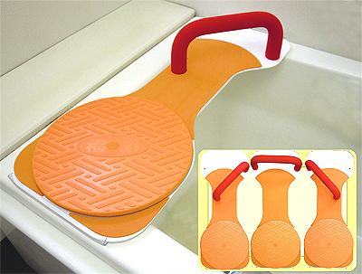 FKB-01-L 回転バスボード L 福浴 / サテライト 【介護 浴槽台 バスボード 移乗 入浴介助】