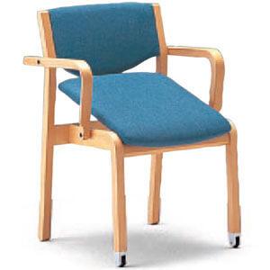 立ち上がり補助 かたらい CRH-41C-MU 半肘座はねあげ 介護・福祉施設向け椅子