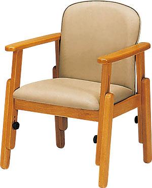 座・コンピス高さ調節肘掛け椅子(キャスターなし)