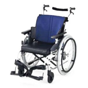 座王スタンダードタイプ車椅子 自走用 NA-501A