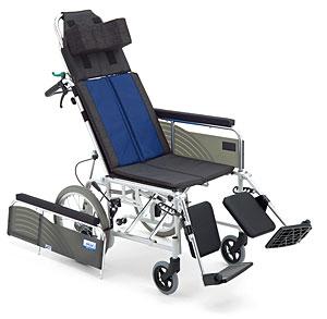 リクライニング車椅子 介助用 BAL-14 無段階リクライニング 施設・病院