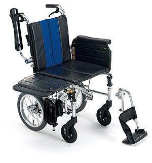 横乗り車椅子 介助用 ラクーネ3 LK-3