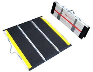 屋外携帯用スロープ・渡し板 デクパック M.P.(エムピー) 対応段差高さ:約8?22cm