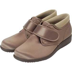介護靴 快歩主義L113K はっ水加工軽量ブーツタイプ