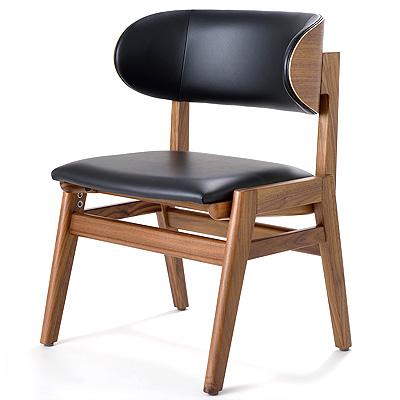 支える椅子レザー 介護の椅子・高齢者の姿勢保持・食事の姿勢を支えます