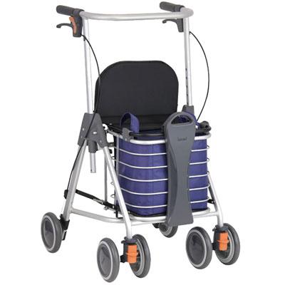 テイコブリトルワゴン WAW07 幸和製作所 カゴ乗せ機能つき歩行車