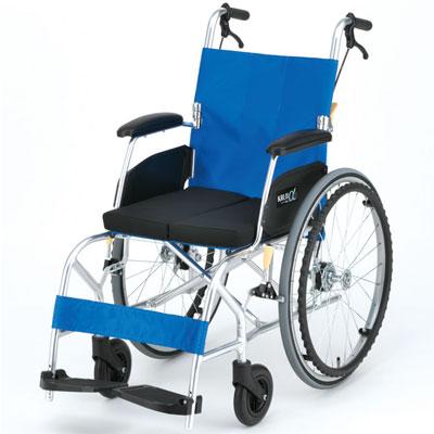 自走用車椅子 kalu8α nah l8α cパッケージ 座クッション付き アルミ製