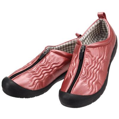 婦人用介護靴 ポエム7703 つま先ガード付き 両足販売 パンジー