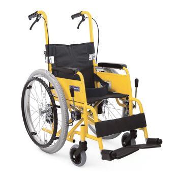 子供用車椅子(自走用) KAC-NB32(28・30) 脚部標準 介助ブレーキ付