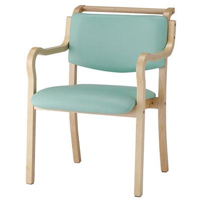 施設用椅子 背部全体が手掛け付きタイプ IKD-03