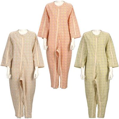 ソフトケアねまき スリーシーズン 上下続き服(介護つなぎパジャマ)