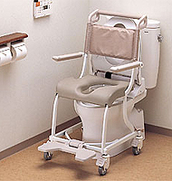 トイレ用車椅子(車いす)