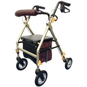 歩行車 ライフフィットFT-18A 座面高さ・ハンドル高さ調節可能