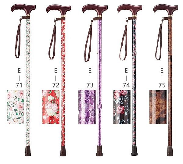 愛杖 Eシリーズ 折りたたみ杖のカラー