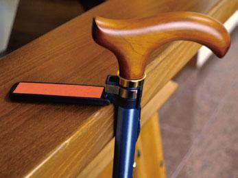 伸縮杖 ツートンステッキ 10段階調節 杖ピタつきの説明