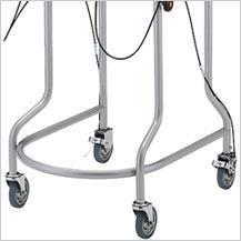 四輪歩行器 アルコー7型B 立体グリップ・ブレーキ付き