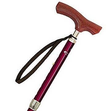 軽量伸縮折りたたみ杖 ぺーシックライト ショート 長さ73〜83cm 身長約142〜162cmの説明