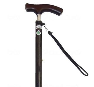 スリムネック伸縮杖 細首ベーシックタイプ 無地 対応身長128〜168cmの説明