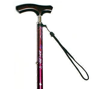 スリムネック伸縮杖 細首スリムタイプ 対応身長128〜168cmの説明