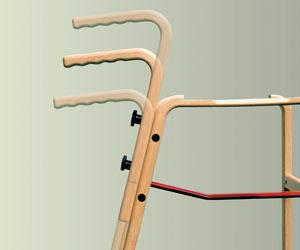 ポーターのハンドルは高さ調節が可能